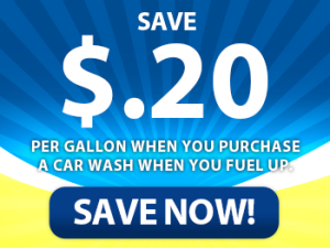 save with car wash